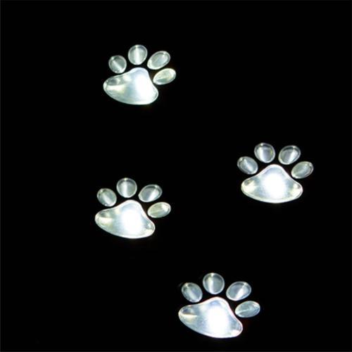 4 Solar Lights Dog Path Cute