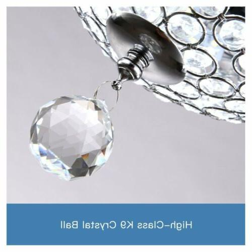 """44"""" Invisible Crystal Ceiling Room Chandelier Lamp US Stock"""
