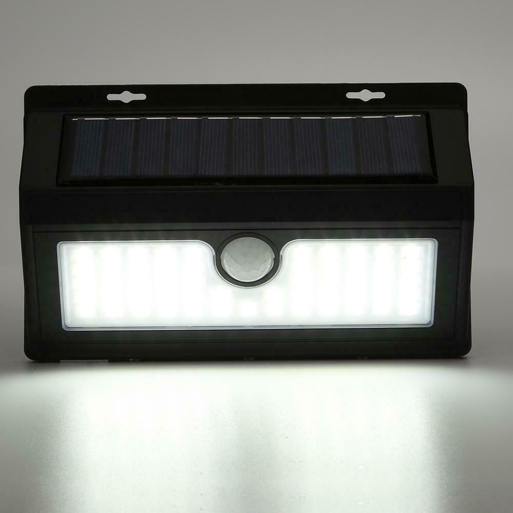 48/55/64LED Solar Wall Light Waterproof Yard