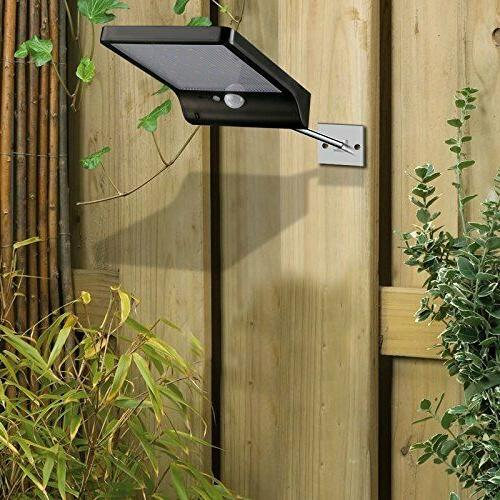 Outdoor Gutter Wall Solar Motion Remote