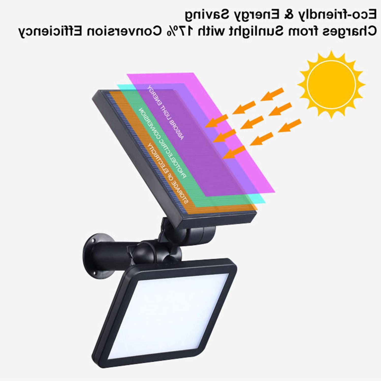 48 LED Powered Flood Yard Lamp