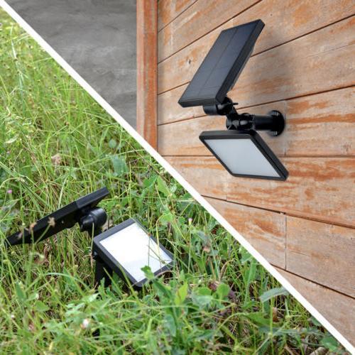 48LED Solar Garden Lawn Lamp Landscape Lights Waterproof