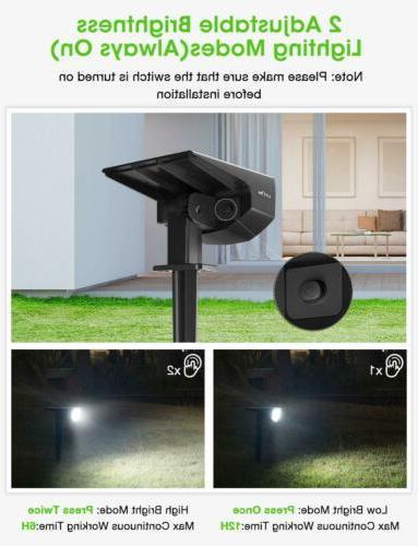 LITOM 12 LED Landscape Wall Yard Driveway