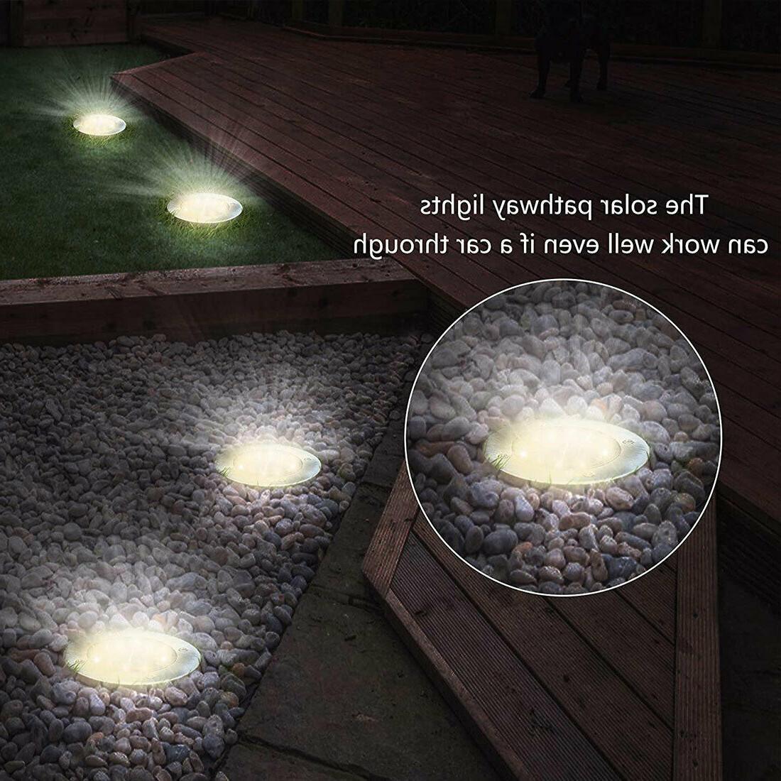 4PCS Walk Buried Light