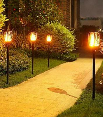 Outdoor LED Solar Torch Light Lamp