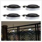 4pcs Solar Powered 9LED Wall Lights Outdoor/Indoor Garden Fe