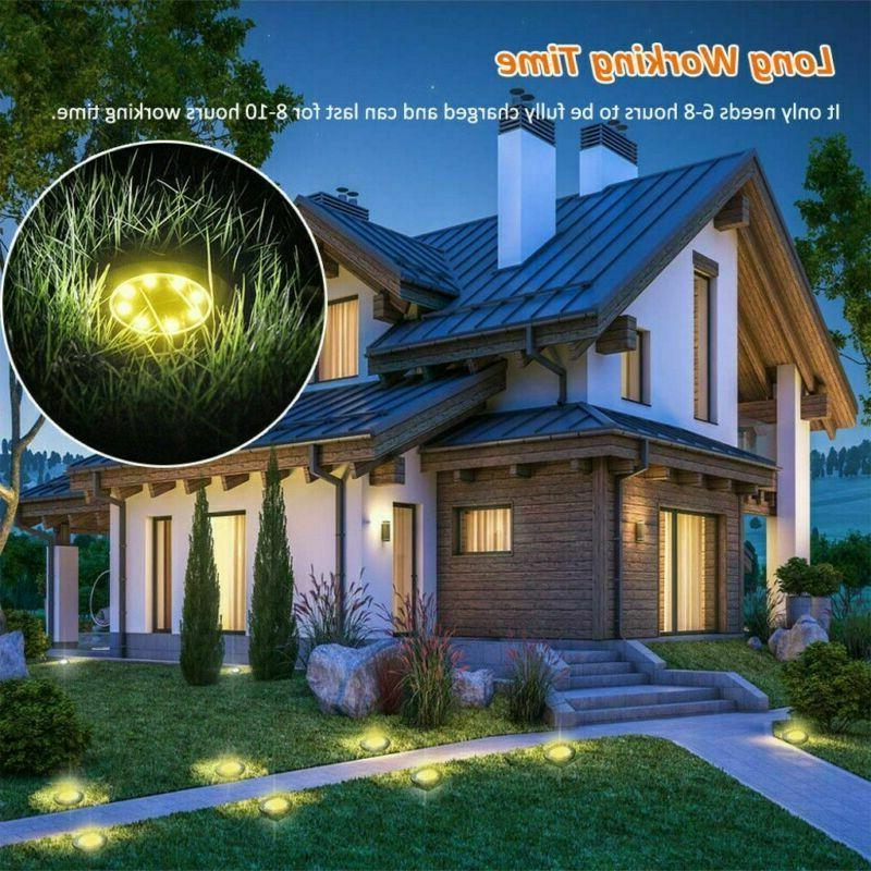 4x Lights Ground Buried Garden Lawn Deck Waterproof
