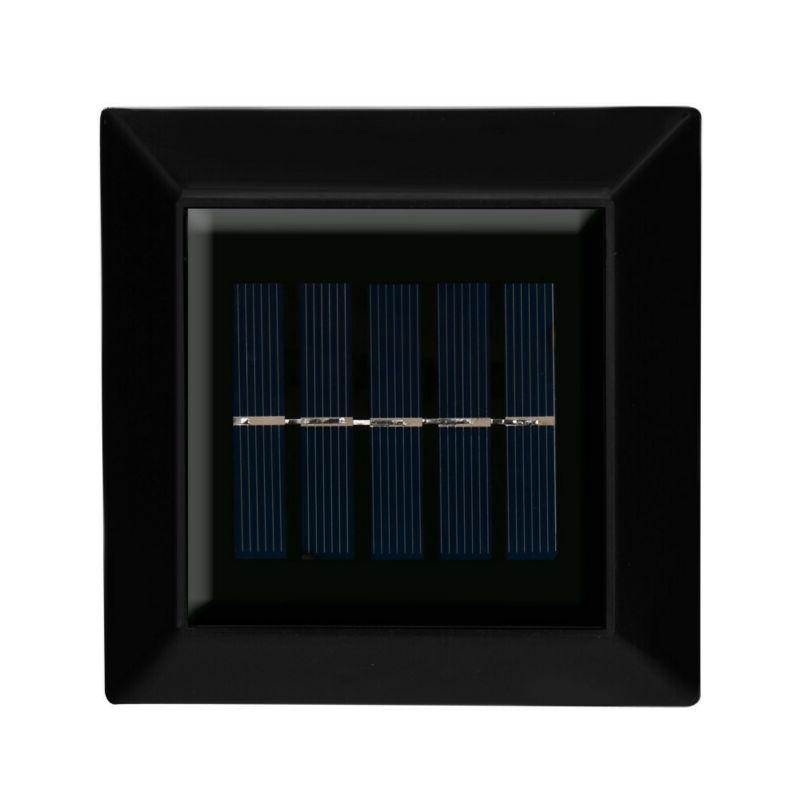 4x LED Solar Light Garden Wall Lights