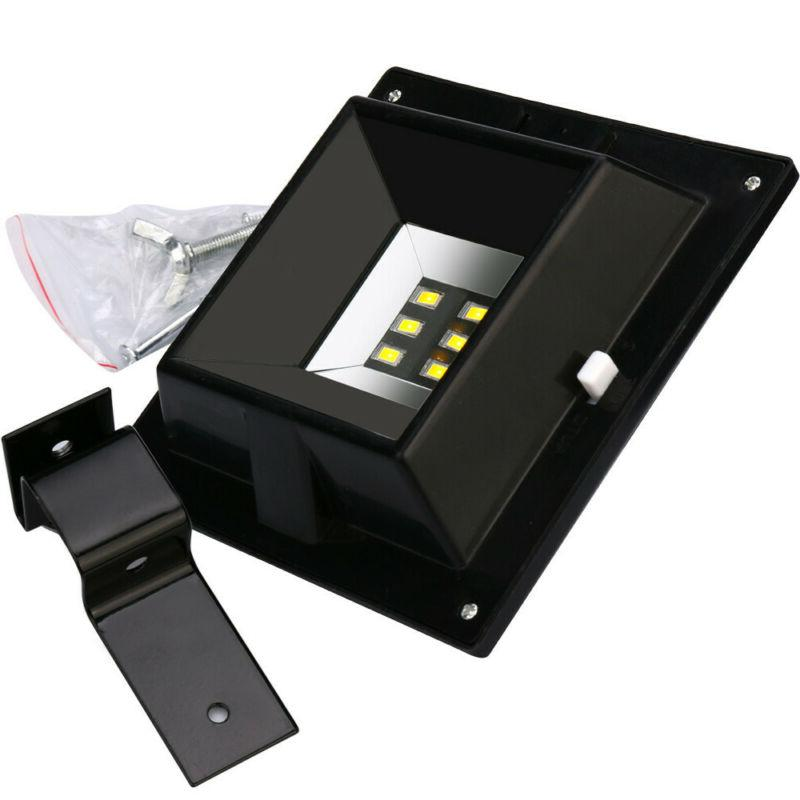 4x LED Powered Light Wall Gutter Lights