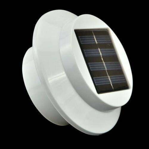 8x Power Light Outdoor Security Gutter Fence WarmCool