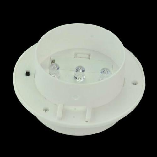 8x LED Solar Light Outdoor Garden Security Gutter Lamp WarmCool