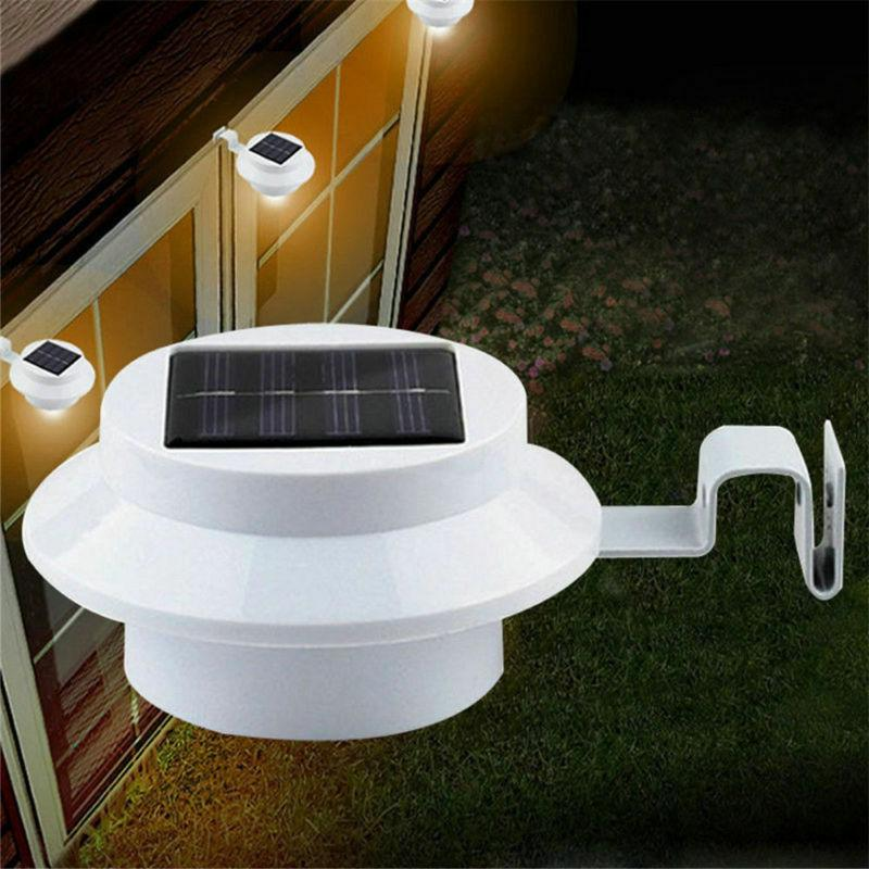 Light Gutter Yard Lights Outdoor Security