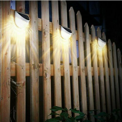 Fence 6-LED Lights Garden Wall Lamp #