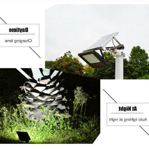 54LED Waterproof Solar Sensor Outdoor Garden