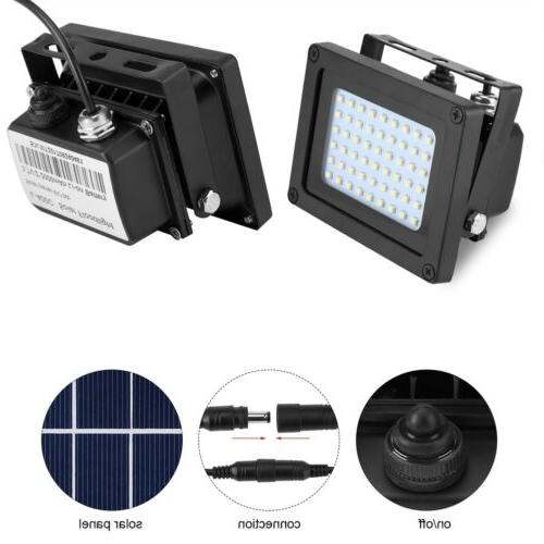 54LED Sensor Flood Light Garden Security