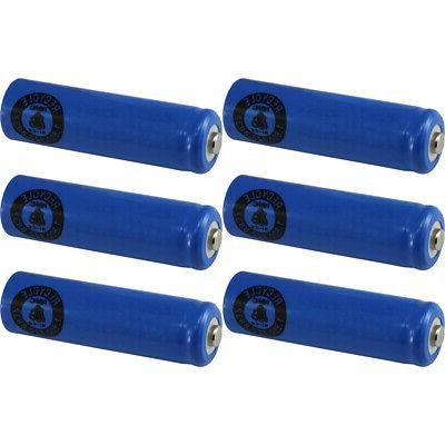 6 AA NiCd Nicad 600 mAh 1.2 V Rechargeable Batteries for Sol