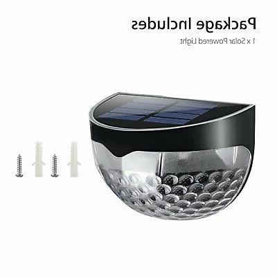 Solar Powered Gutter Lights Garden Path Lamp