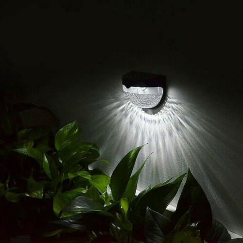 LED Gutter Fence Yard Wall Lamp