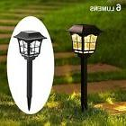 6 lumens solar pathway lights solar garden