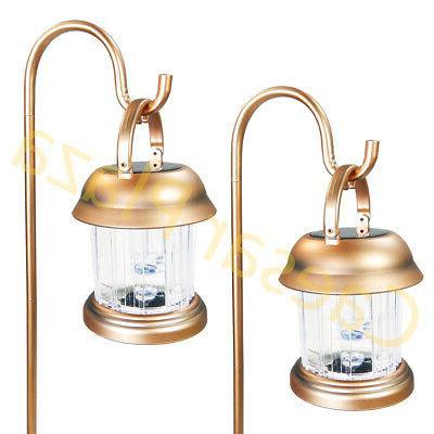 6 Brass Copper Solar Hanging Lights