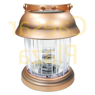 6 Copper 2 Solar Hanging Path Lights Lantern