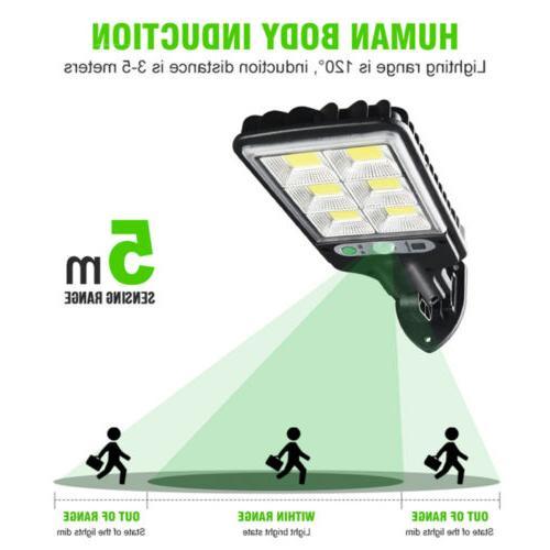 600W LED Wall Light Sensor Outdoor Garden Security USA