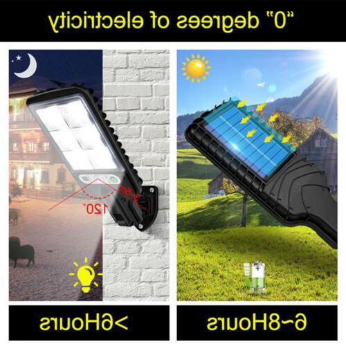 600W LED Light Motion Sensor Garden Street USA