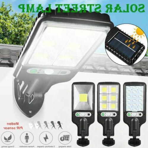 600w led solar wall light motion sensor