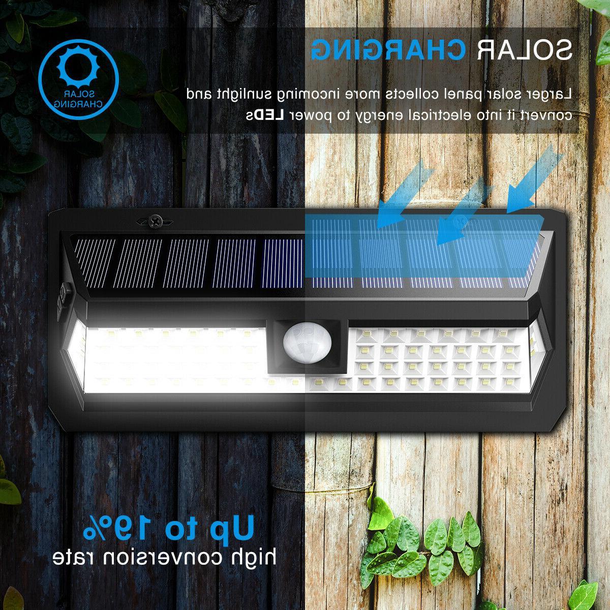 AMIR 62 Bright Motion Lights Outdoor