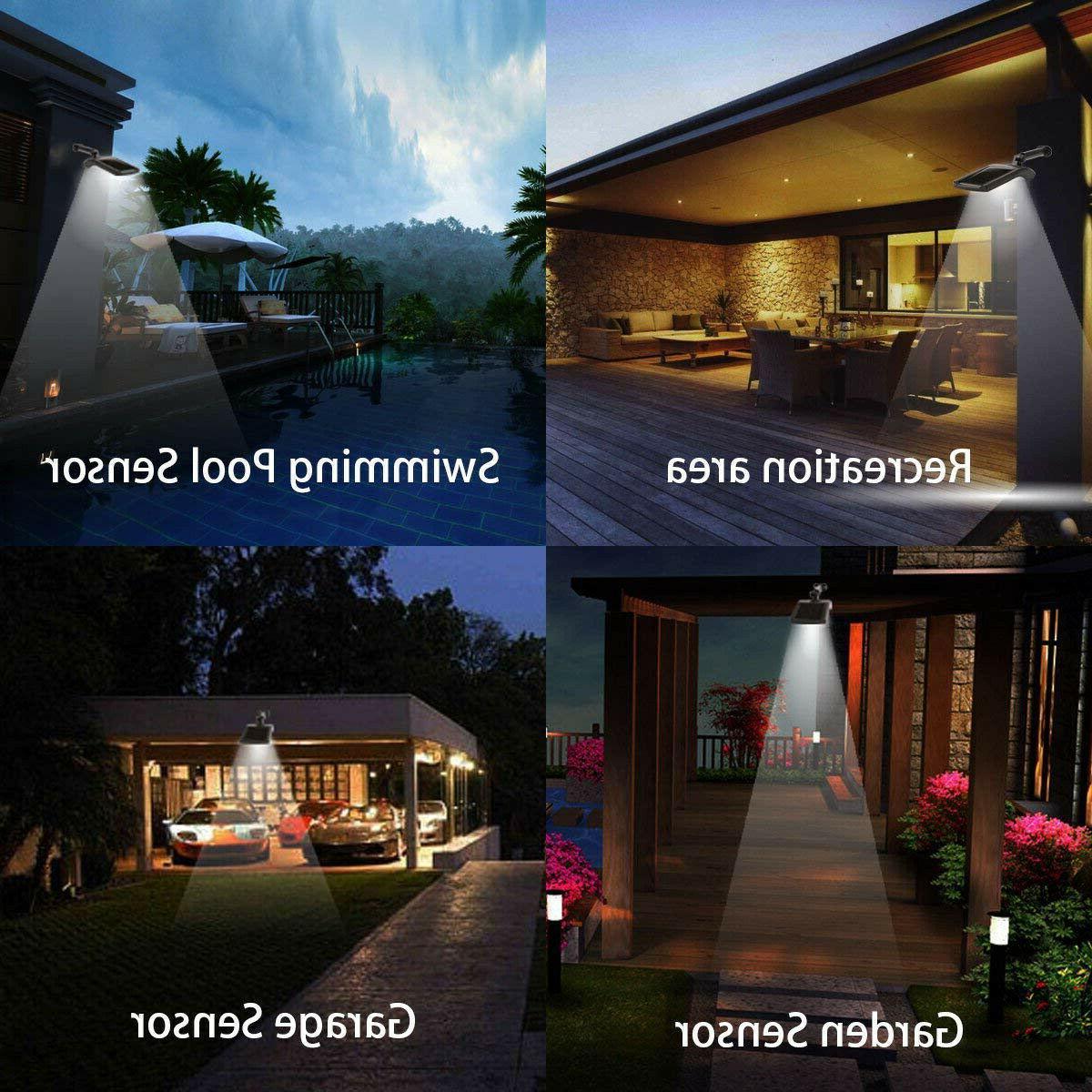 36 LED Motion Wall Outdoor Waterproof Garden Lamp