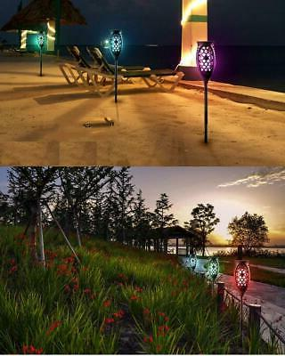 2pcs Tiki Torch Lights Flickering Lamps