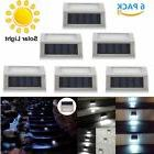 6X 3 Led Solar Path Lights Outdoor Exterior Yard Fence Wall