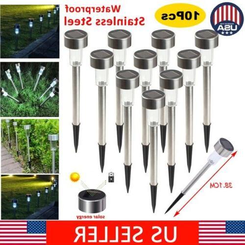 6x solar power waterproof outdoor garden light