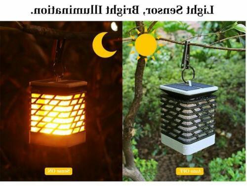MoKo 75 Solar Power Path Lights Dancing Lighting Lamp