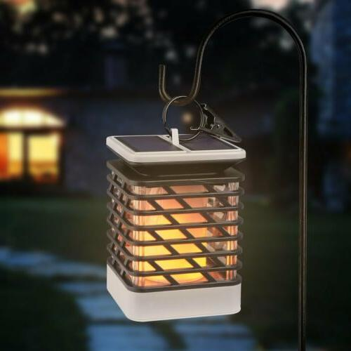 75 led solar power path torch lights