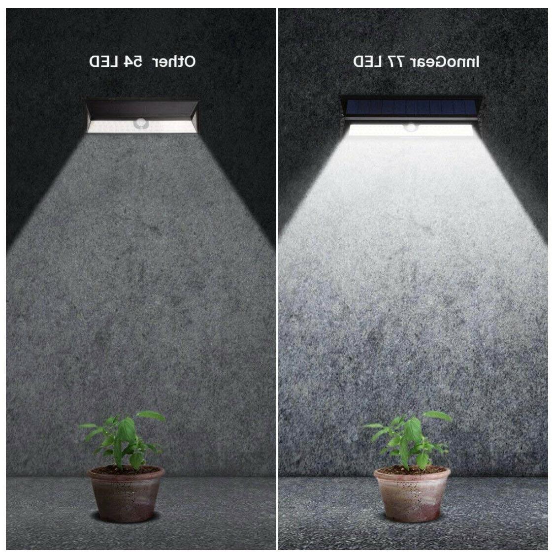 Amir Solar Lights Outdoor Wall On/Off Waterproof