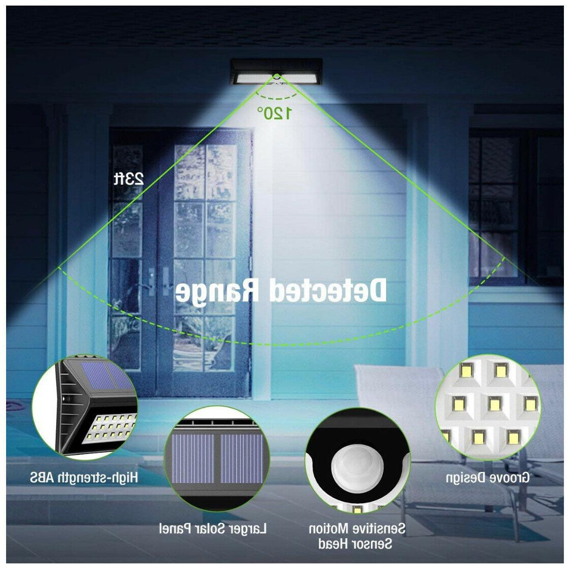 Amir 77 LED Lights Motion Wall Light Auto On/Off Waterproof