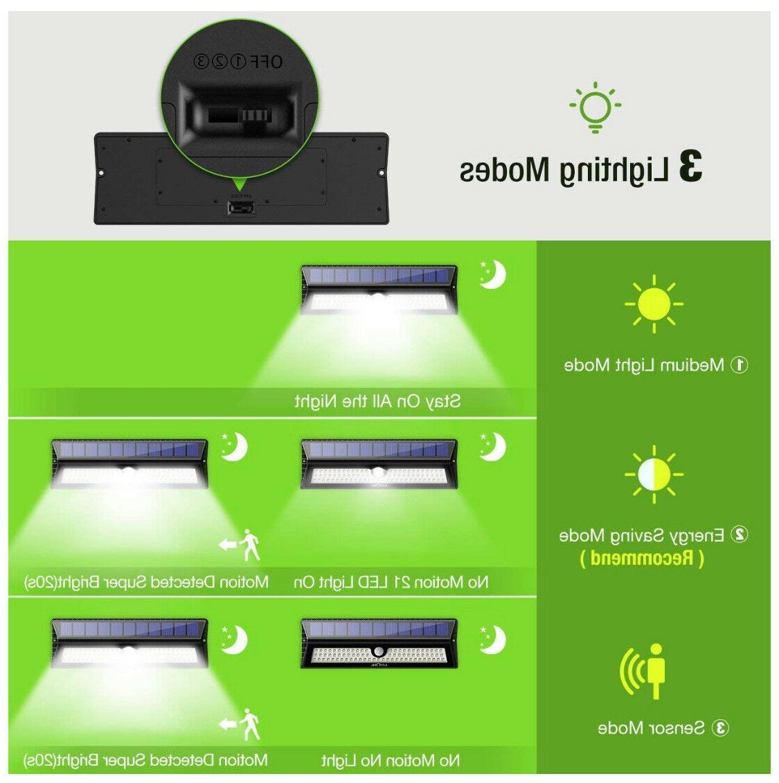 Amir 77 Lights Outdoor Motion Wall Auto Waterproof