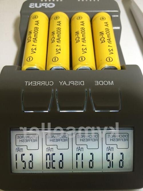 8 AA Rechargeable Batteries NiCd 600mAh Garden