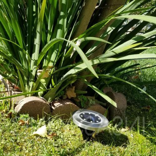 8 Solar Lights for Outdoor Garden Pool