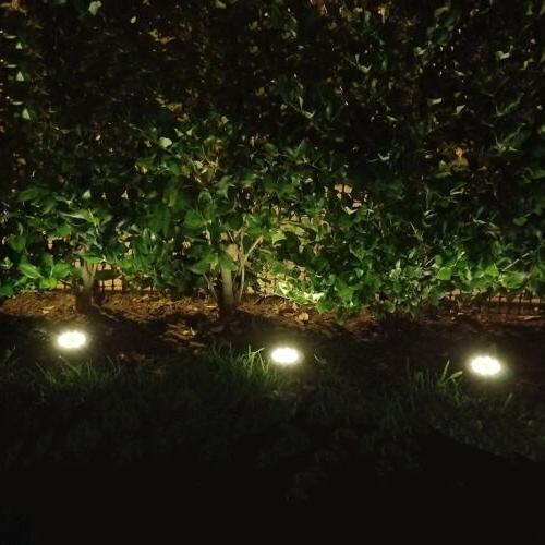8 LED Lights Garden Deck Path Pool