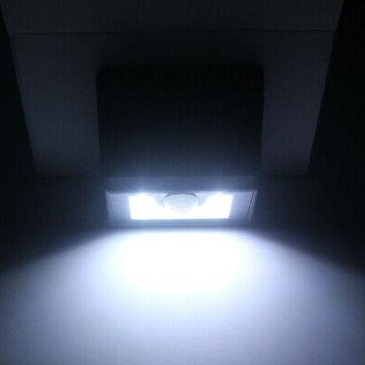 8 LED Powered PIR