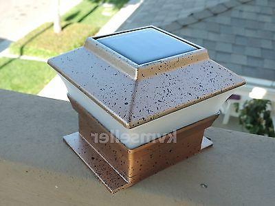 8 Outdoor 4X4 Cap Square Fence Plastic