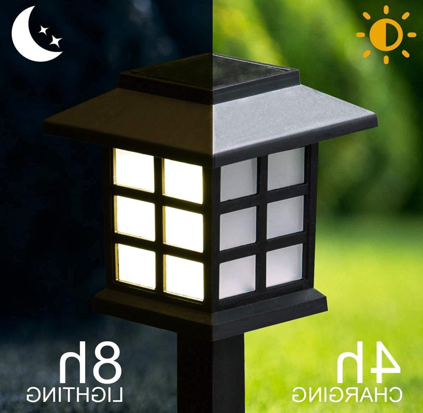 GIGALUMI Pack LED Solar Waterproof Lights