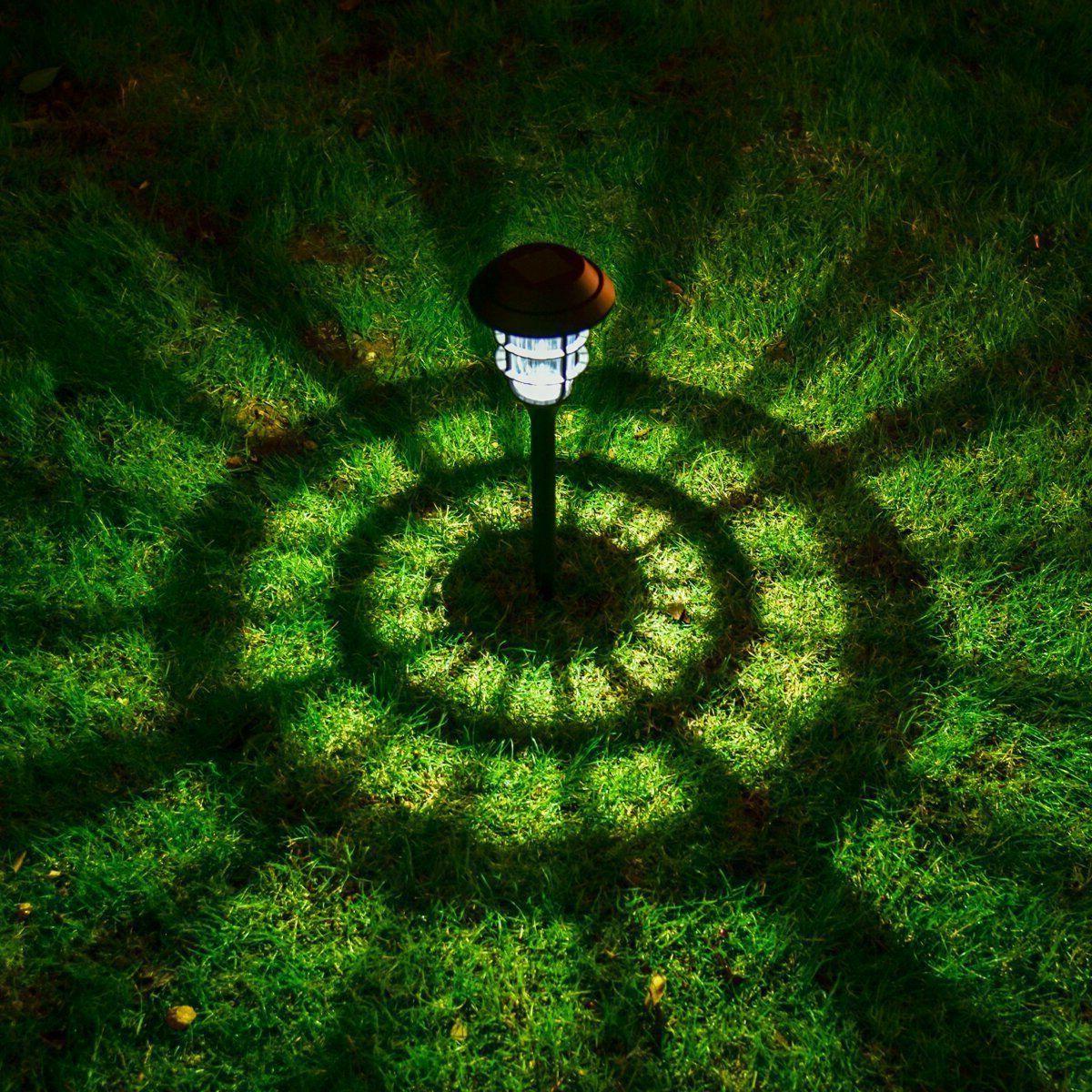 8Pcs Solar Lights Waterproof LED Outdoor Landscape
