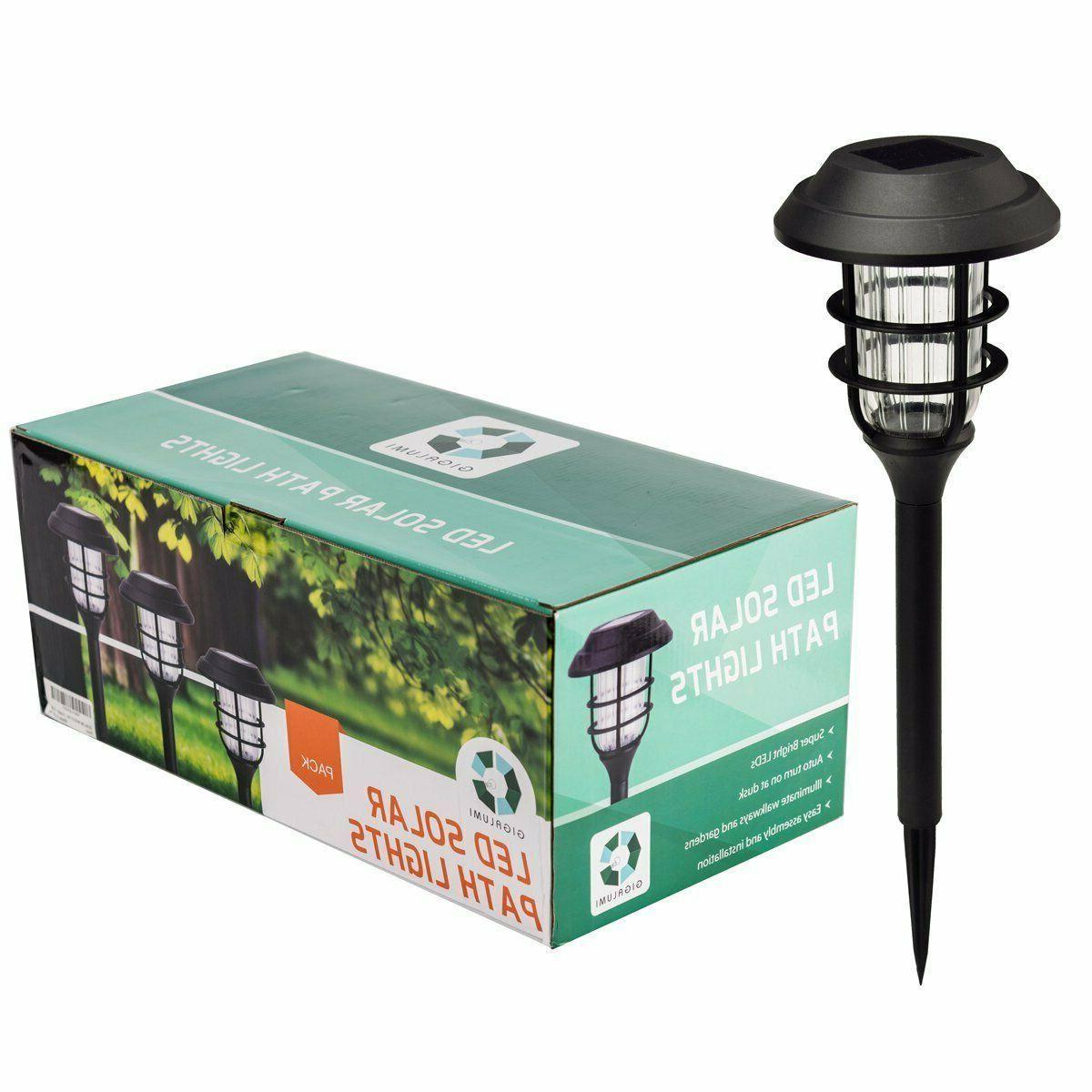 8Pcs Lights Waterproof LED Landscape Lamp