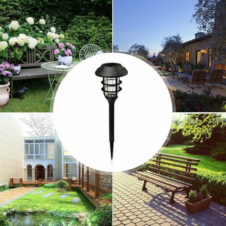 8Pcs Solar Waterproof Garden Landscape Yard Lamp