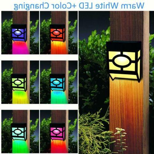 8 Wall Garden Fence Light