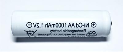 8 pcs rechargeable nicd aa 1000mah 1
