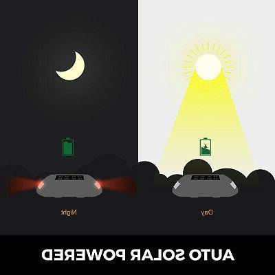 8 PCs Solar Marker Lights Safety for Path Deck